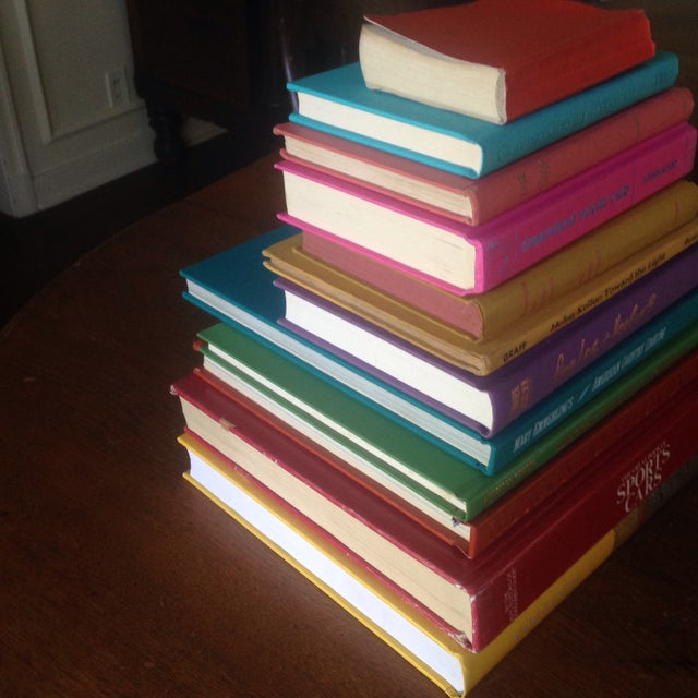Brightly Colored Decorative Books - Set of 12 - Image 5 of 11