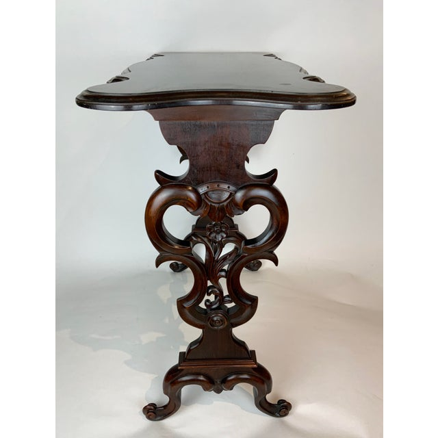 Wood 19th Century Victorian Side Table For Sale - Image 7 of 13