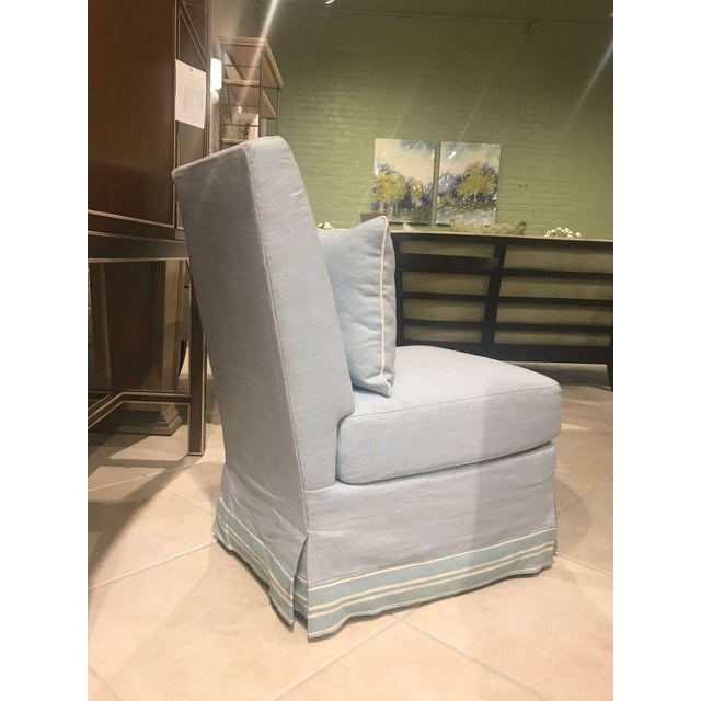 Henredon Wilshire Slipper Chair - Image 5 of 6