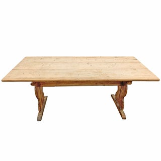 18th Century Swedish Trestle Dining Table Preview