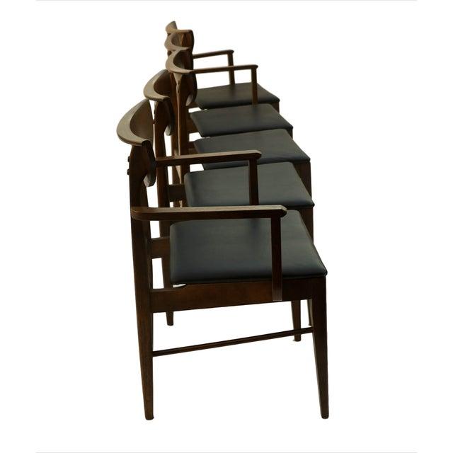 Mid Century Modern Bassett Dining Chairs - S/5 - Image 5 of 10