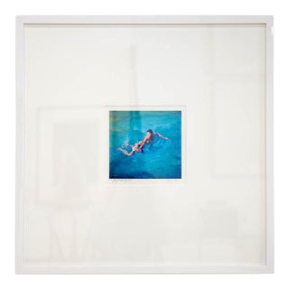 """The Swimmer,"" Silkscreen by Vassilis Kyrkros For Sale"