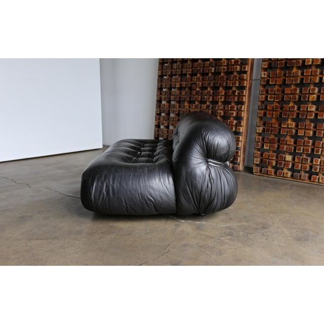 1970s Soriana Settee by Afra & Tobia Scarpa for Cassina For Sale - Image 5 of 13