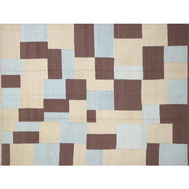 "Contemporary Egyptian Kilim 8'2"" X 10'9"" For Sale"