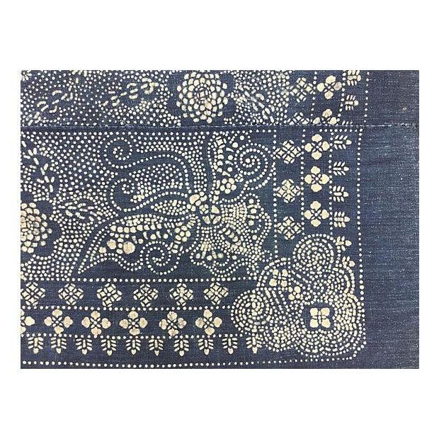 Chinese Minority Batik Panel With Dragon - Image 4 of 5