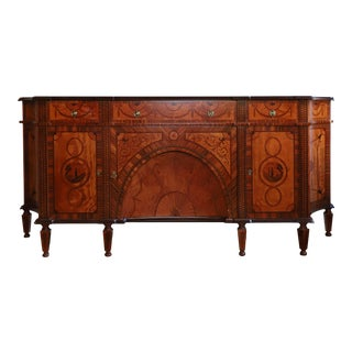 David Michael English Style Sideboard From Winston Churchill Suite of Waldorf Astoria For Sale