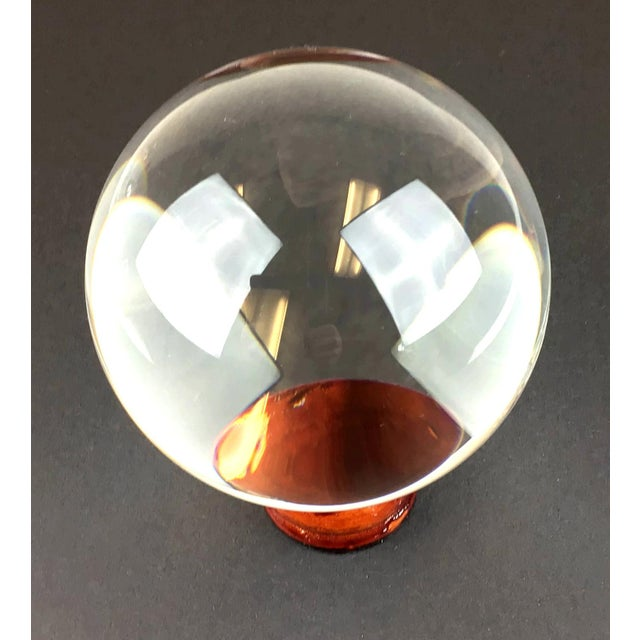 Give someone a chance to see the future. A perfect genuine gemstone huge crystal ball. Never used so in perfect condition....