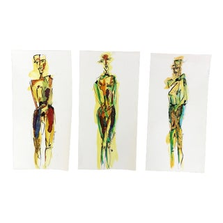 Tryptic by Chantal Martinez For Sale