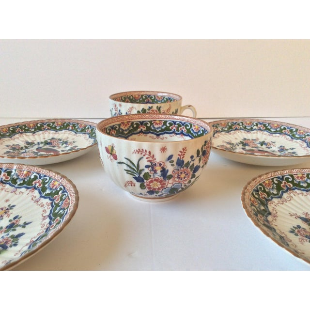 """Booths """"Old Dutch"""" Cup & Saucers - Set of 4 - Image 10 of 11"""