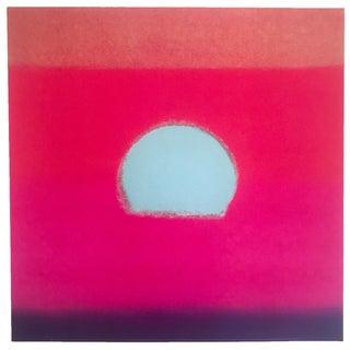 "1972 Andy Warhol Original Pop Art ""Fucshia Sunset"" Sunset Series Print"