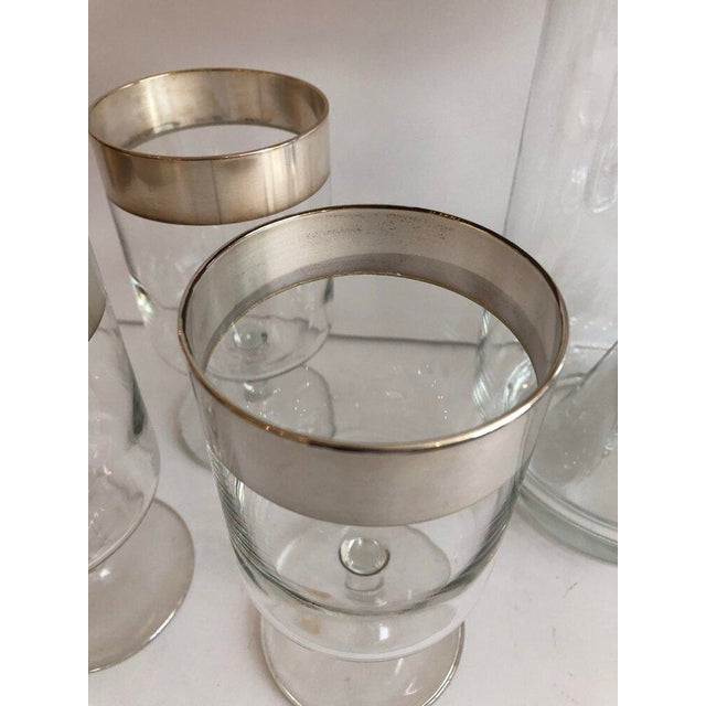 Dorothy Thorpe Allegro Cocktail Set - 12 Piece Set For Sale In Boston - Image 6 of 7
