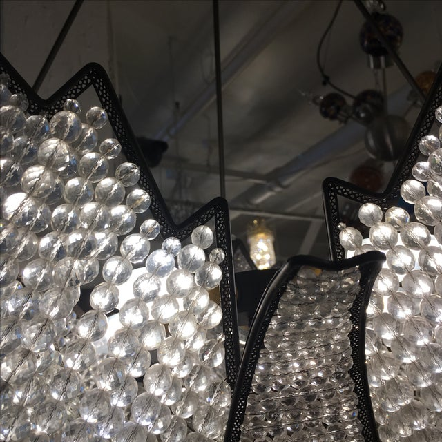 Jeweled Swan Chandelier - Image 4 of 7