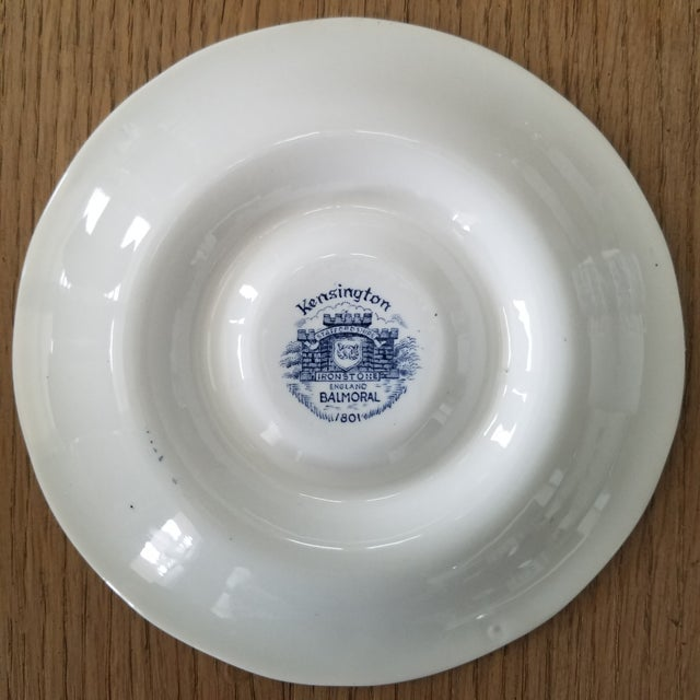 Kensington Stafforshire Ironstone Balmoral 1801 Cups & Saucers, 22 Piece For Sale - Image 9 of 10