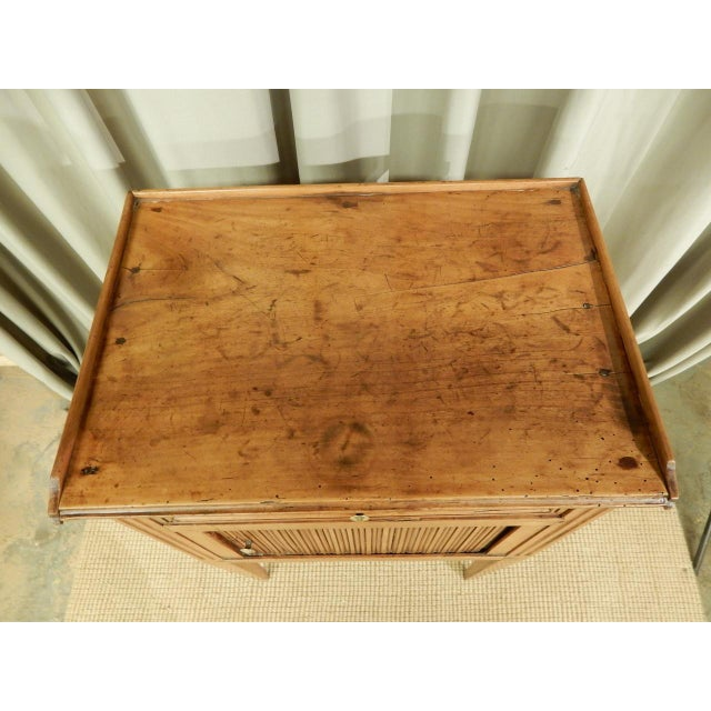 Early 19th C. French Walnut Side Table For Sale - Image 4 of 9