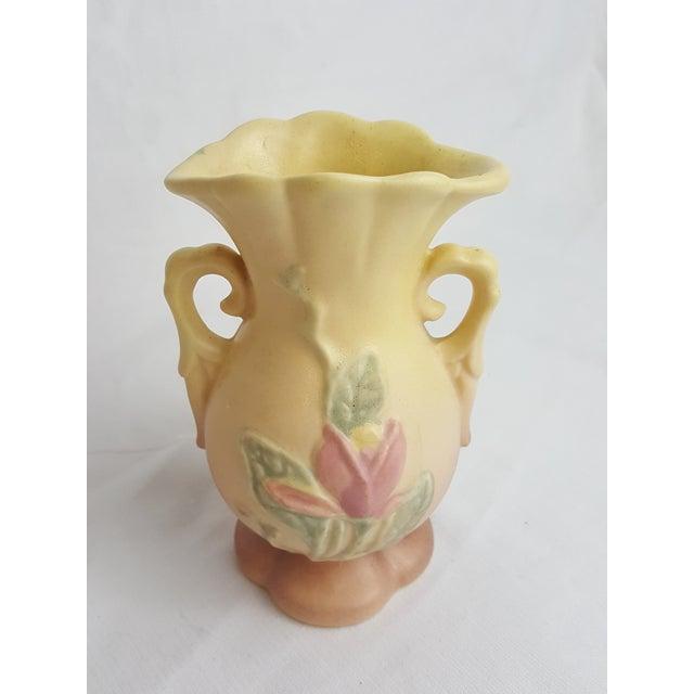 Hull Usa Matte Glaze Magnolia Bud Vase Chairish