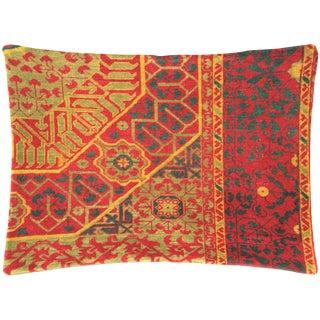 "Nalbandian - 1960s Turkish Oushak Pillow - 19"" X 26"" For Sale"