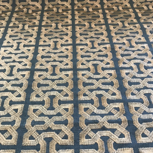 Contemporary Kravet Couture Barbara Berry Ceylon Key South Seas Fabric - 12 Yards For Sale - Image 3 of 7