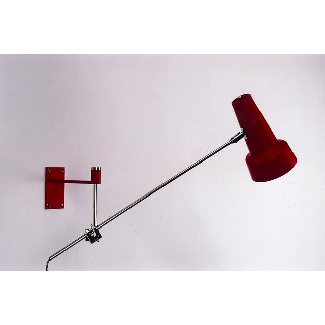 1970's Italian Modern Swing Arm Sconce - Image 3 of 7