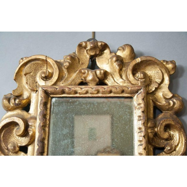 Italian Baroque Giltwood Mirror - Image 2 of 8