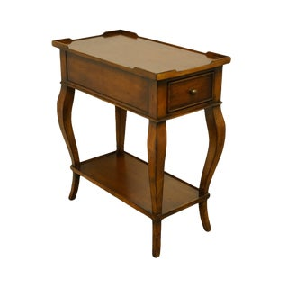 French Provincial Ethan Allen Country Accent Table For Sale