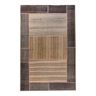 Large Patchwork Shahsevan Kilim Rug For Sale