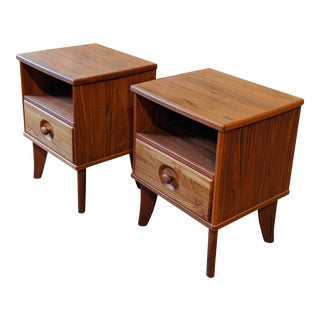 Mid-Century Modern Torring Nightstands - a Pair For Sale