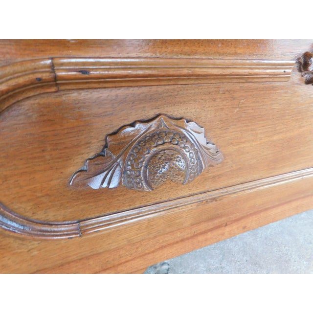 Antique Victorian Walnut Cottage Chest For Sale - Image 11 of 13
