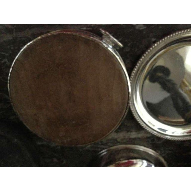 Early 20th Century Pair of Silver Sheffield Food Warmers For Sale - Image 5 of 9