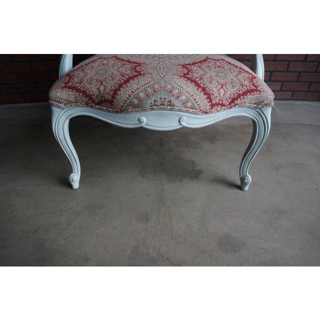 2010s Modern Ethan Allen French Provincial Chantel Accent Chair For Sale - Image 5 of 10
