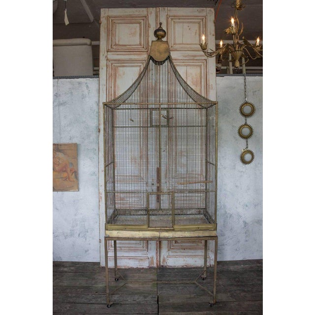 Large French Bird Cage - Image 2 of 10