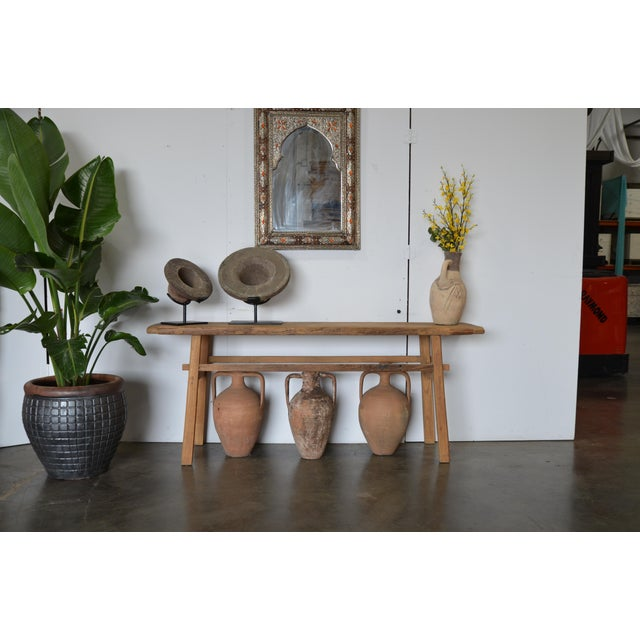 Tan Fossilized Ammonite on Custom Iron Stand For Sale - Image 8 of 10