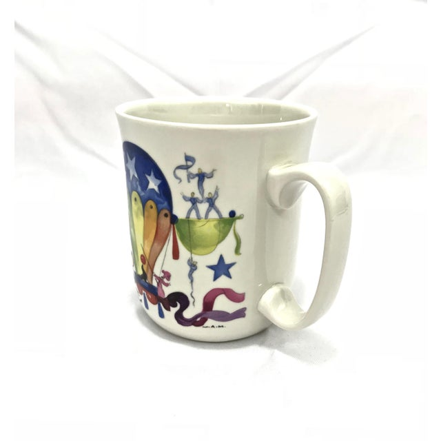 "Watercolor Villeroy & Boch ""Le Ballon"" Breakfast Set, 3pcs. For Sale - Image 7 of 13"