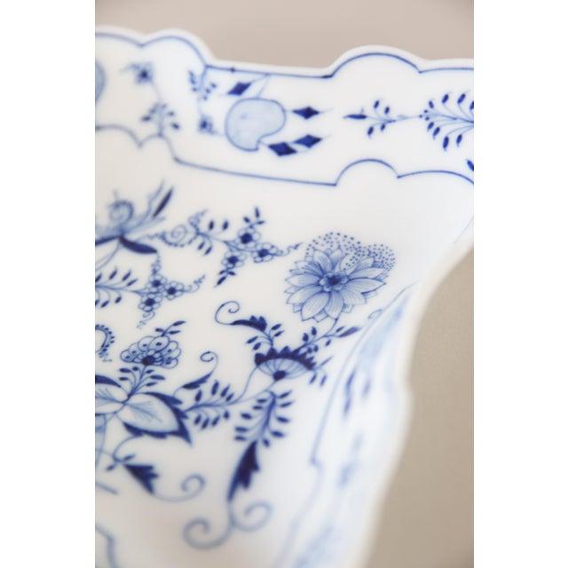 Blue Onion Square Porcelain Dish For Sale - Image 4 of 6