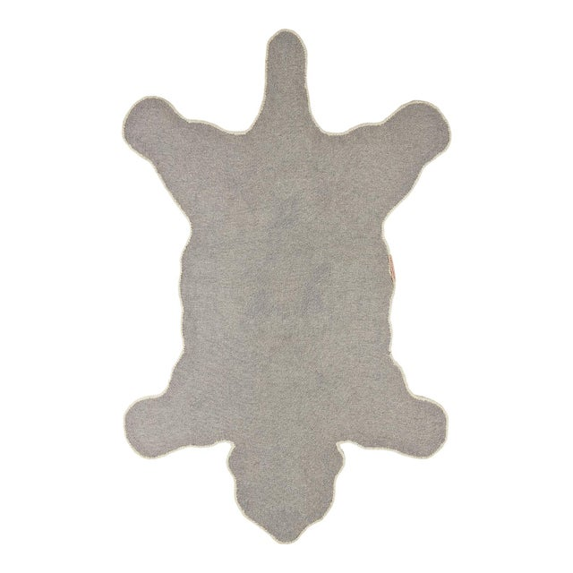 Bring some cheer to your room with this beautifully handmade Kasbah Polar Bear Rug Large. The Kasbah Polar Bear Rug Large...