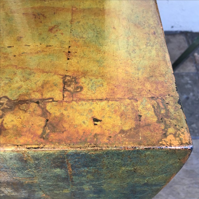 Luminescent Custom Bronze Occasional Table - Image 6 of 7