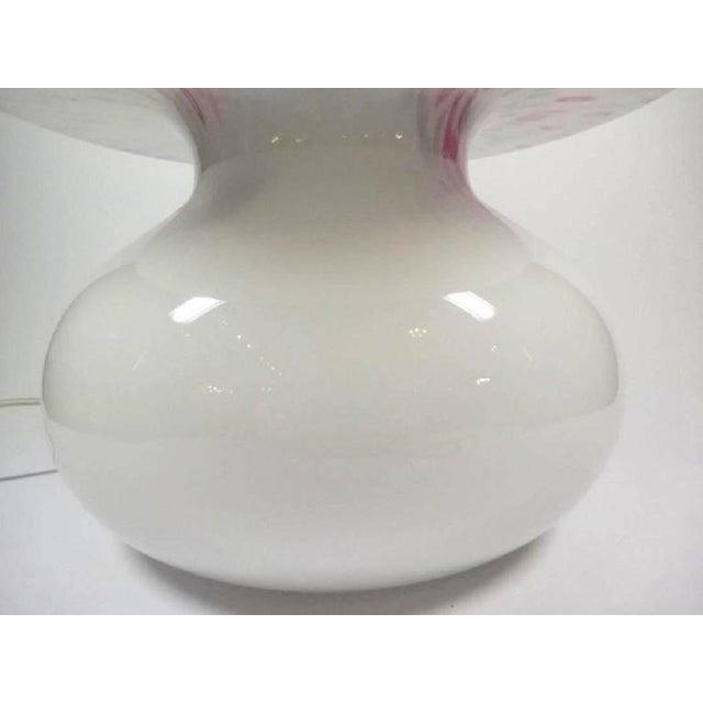 Funfetti Murano Art Glass Mushroom Lamp For Sale - Image 4 of 6