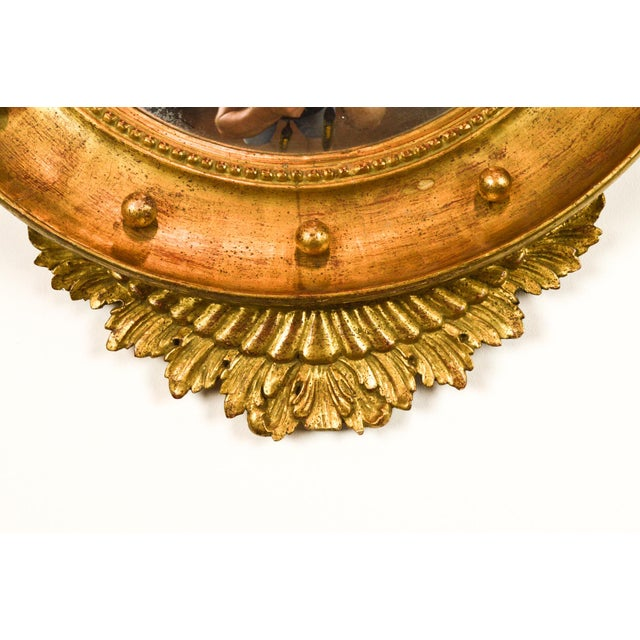 Federal-Style Gilt Convex Mirror - Image 6 of 8