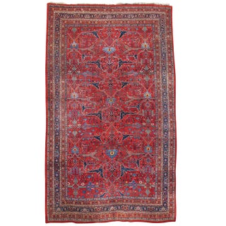 Room Sized Persian Bidjar Carpet For Sale