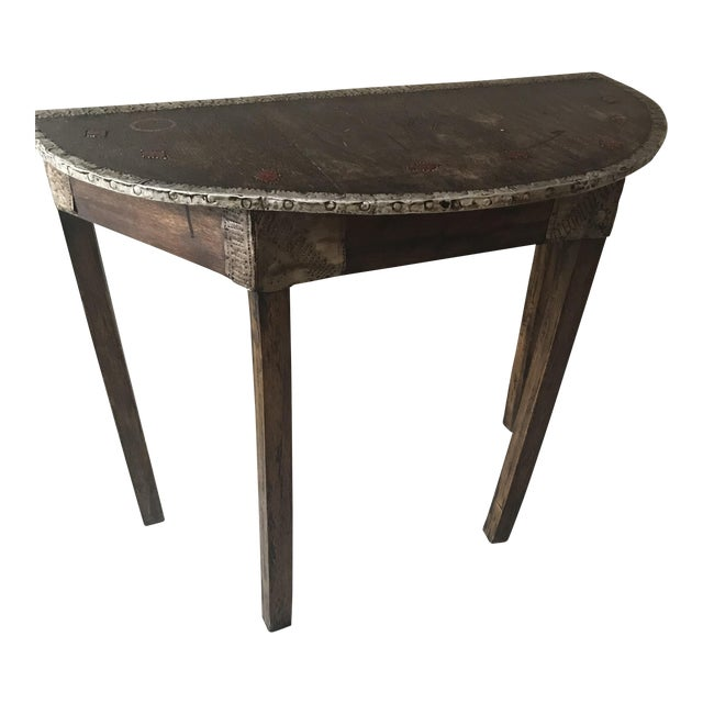 Moroccan Hand Made Side Table For Sale