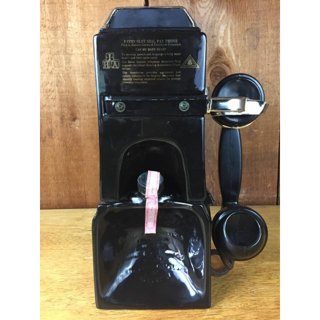 Vintage Jim Beam Payphone Decanter For Sale - Image 5 of 9