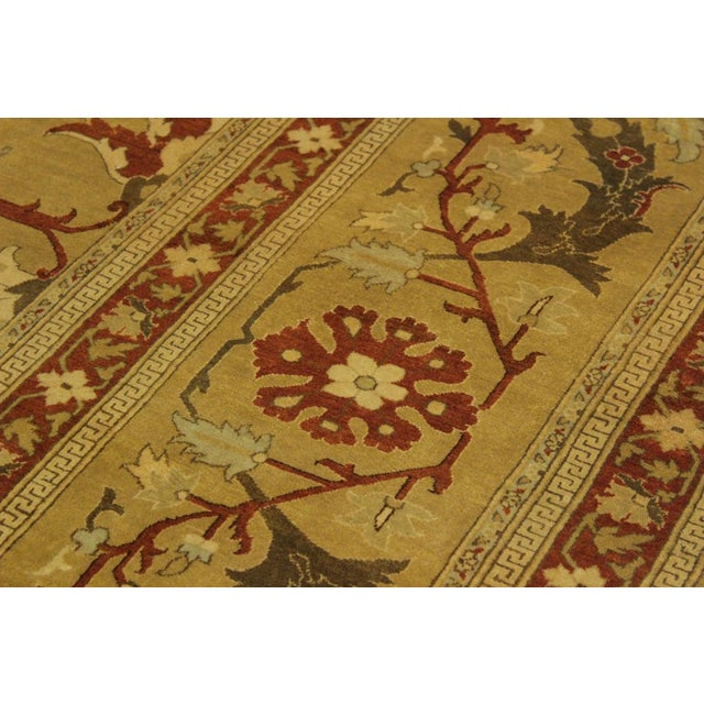 1950's Persian Karri Rust Hand-Knotted Rug -10'0 X 13'8 For Sale In New York - Image 6 of 9