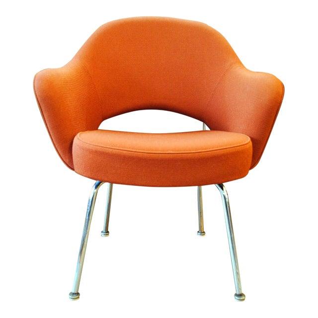 Mid Century Executive Armchair by Eero Saarinen for Knoll-1960's - Image 1 of 12