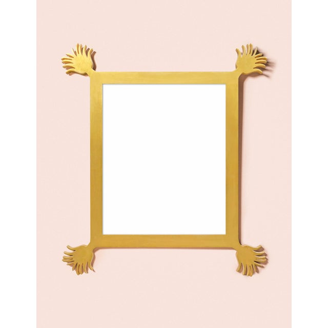 Fleur Home x Chairish Vieux Mirror in Gold Leaf, 43x55 For Sale - Image 4 of 4