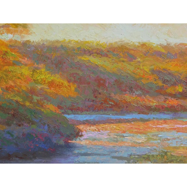 Rob Longley, Autumn Afternoon, Beech Forest Pond, 2013 For Sale In New York - Image 6 of 8