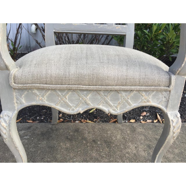 Wood 19th Century Louis Philippe French Arm Chair For Sale - Image 7 of 10