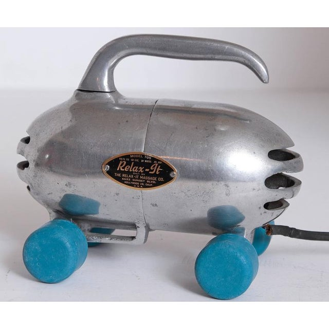 Machine Age Industrial Design Streamline Objects IRON SOLD For Sale - Image 9 of 11