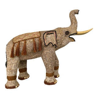 Shell-Covered Elephant by Scandia For Sale