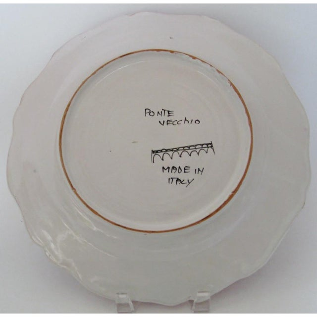 Late 20th Century Vintage Italian Serving Plate For Sale - Image 5 of 5