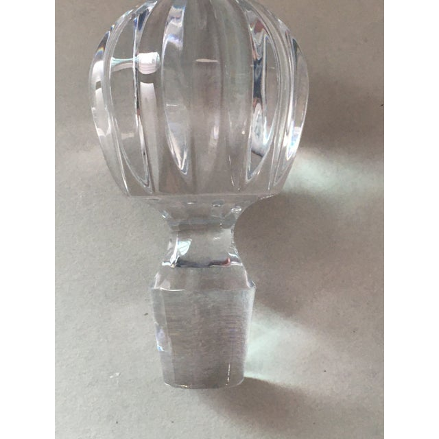 Late 20th Century Towle Crystal Decanter For Sale - Image 5 of 7