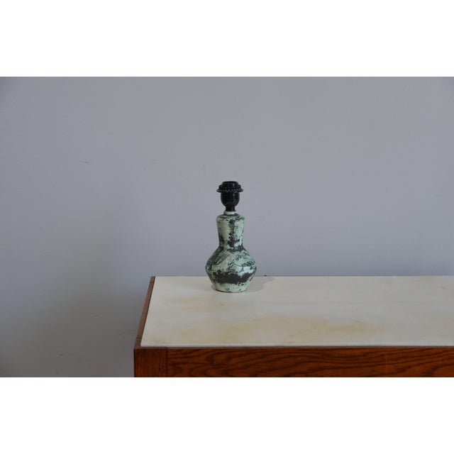 Ceramic Chic Petite Ceramic Lamp by Jacques Blin For Sale - Image 7 of 7